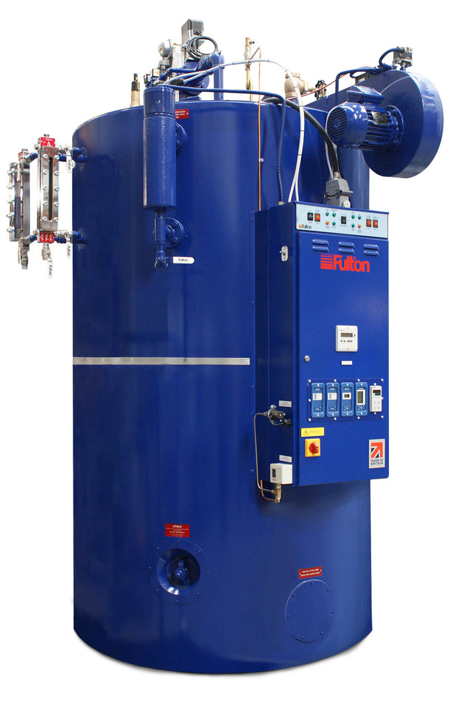 IPE - J Series vertical fuel-fired steam boiler and JFS (Flash steam ...