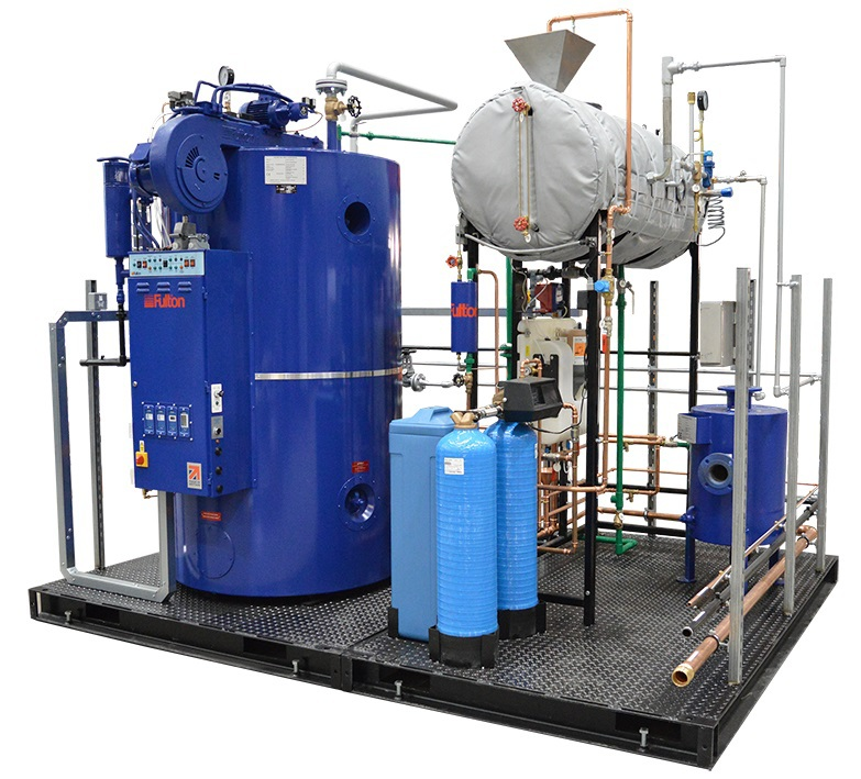 IPE - Skid-mounted steam boiler systems and plant rooms